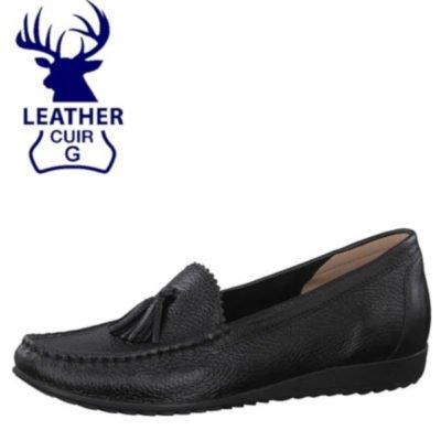 Caprice deer skin loafers
