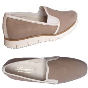 Sergio taupe moccasin 2501