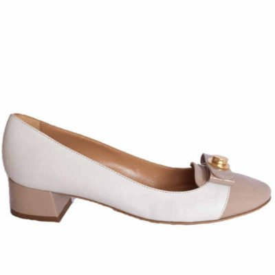 Sergio shoes off white-taupe 3609