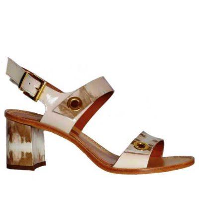 Sergio sandal patent multi 6836