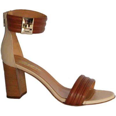 Sergio sandal tan+beige 7712