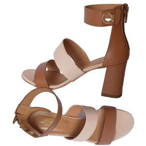 Sergio sandal tan+cipria (face powder) 7724