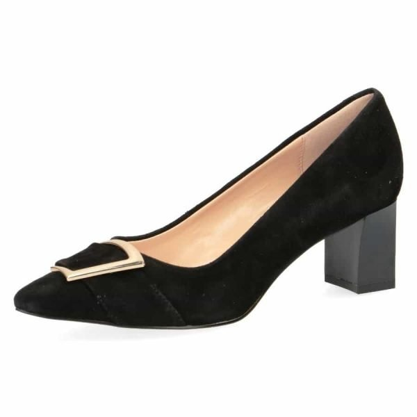 009 22405 22 004 270 600x600 - Black suede by Caprice