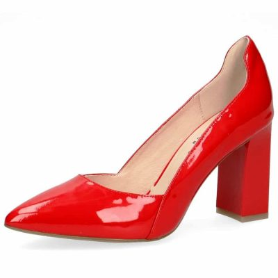 Molly red patent by Caprice