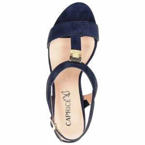 Ocean suede sandals by Caprice