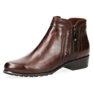 Diane brown ankle boots by Caprice