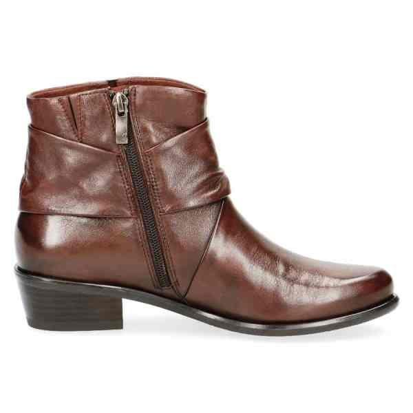 009 25360 23 342 090 600x600 - Caprice brown soft nappa leather short boots