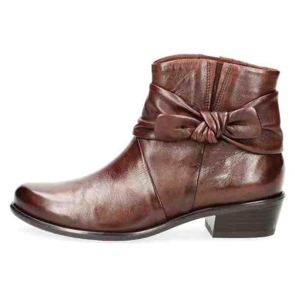 009 25360 23 342 300 - Caprice brown soft nappa leather short boots