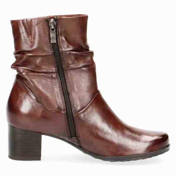 009 25364 23 342 090 600x600 - Brown soft nappa leather bootie by Caprice