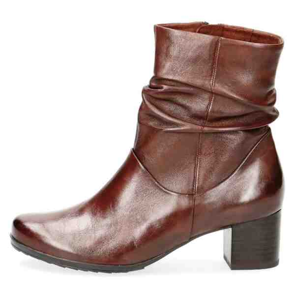 009 25364 23 342 300 - Brown soft nappa leather bootie by Caprice