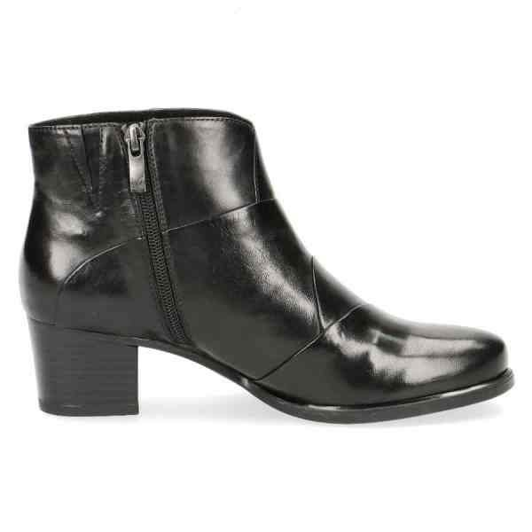009 25373 33 040 090 600x600 - Black soft nappa leather ankle boots by Caprice