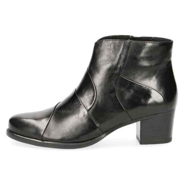 009 25373 33 040 300 600x600 - Black soft nappa leather ankle boots by Caprice