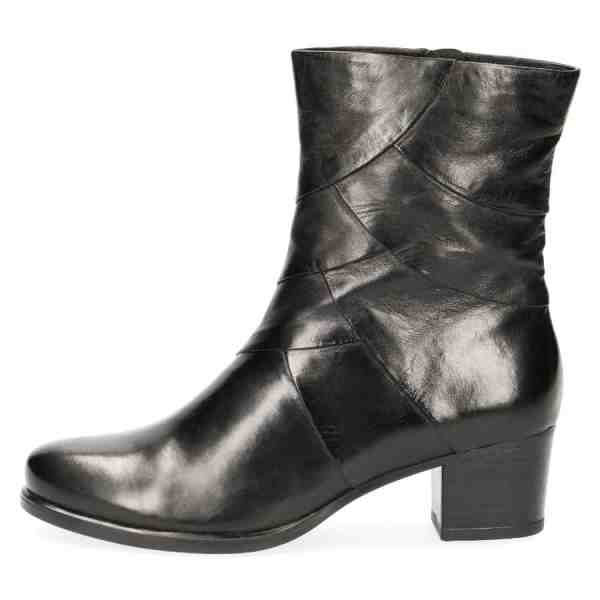 009 25374 33 040 300 - Black soft nappa leather booties by Caprice