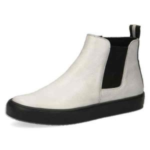 Amanda white nappa  ankle boots by Caprice