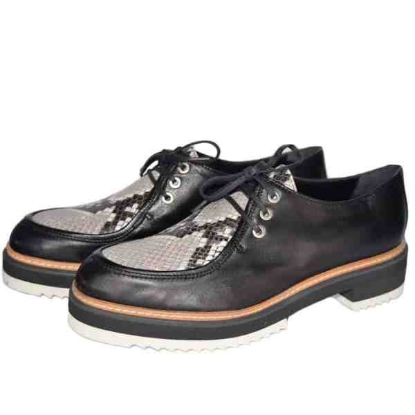 3174cp. 600x600 - Snake lace ups by Sergio handcrafted in Italy