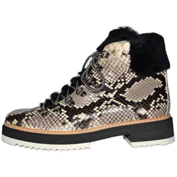 3432. 600x600 - Snake lace up ankle boots handcrafted in Italy