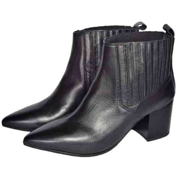 6218n 600x600 - Sergio leather booties handcrafted in Italy
