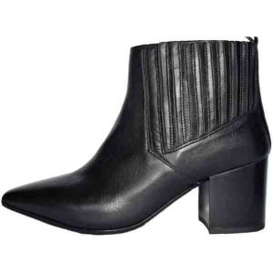 Sergio leather booties handcrafted in Italy