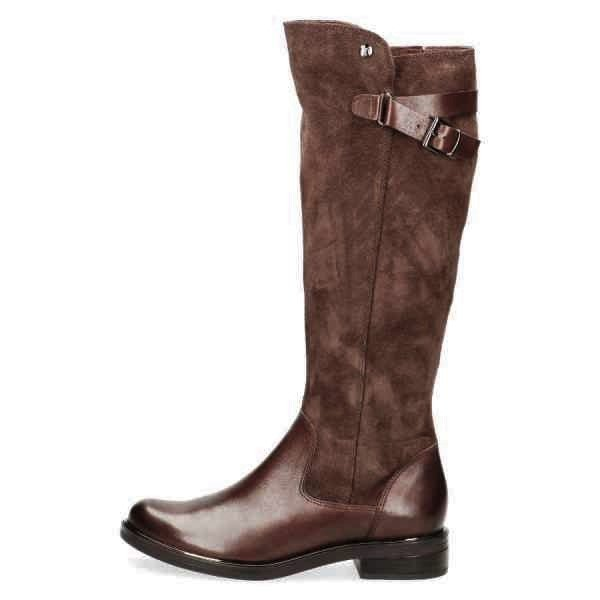 009 25534 23 329 300 - Knee high brown boots by Caprice