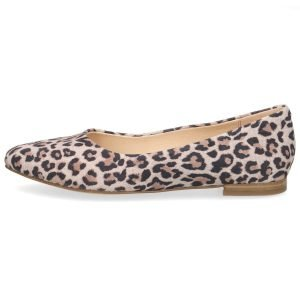 Lilly leopard flats by Caprice of Germany