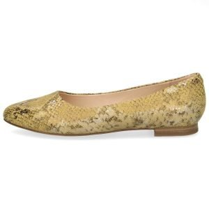 Lilly snake flats by Caprice of Germany