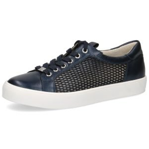 Leather mesh sneakers by Caprice