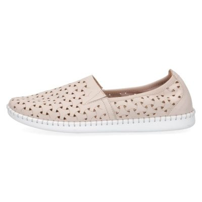 Nubuck flats by Caprice of Germany