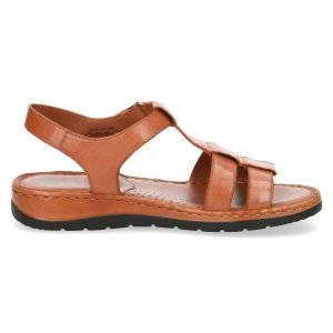 Tara  leather sandals by Caprice