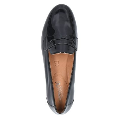 Patent leather slip on by Caprice