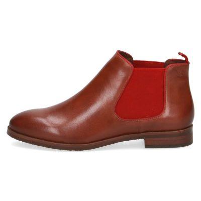 Elle cognac chelsea boots by Caprice