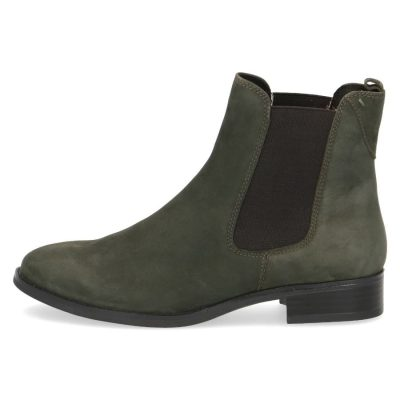 Forest nubuk chelsea boots by Caprice
