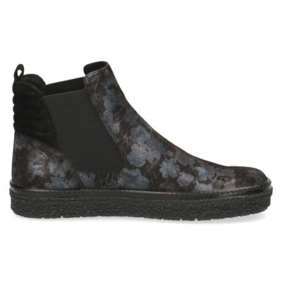 Amanda flower print ankle boots by Caprice