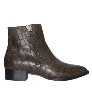 Sergio short boots anthracite crock 2461
