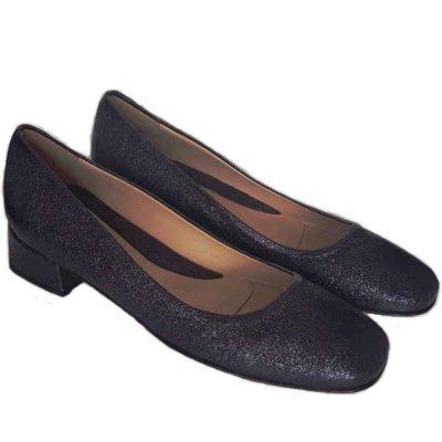 Sergio shoes 3608 metallic black