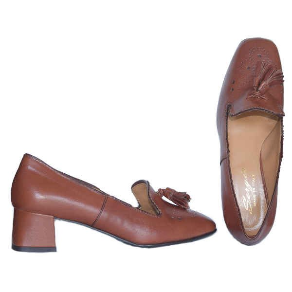 4101 tan 600x600 - Sergio shoes tan 4101