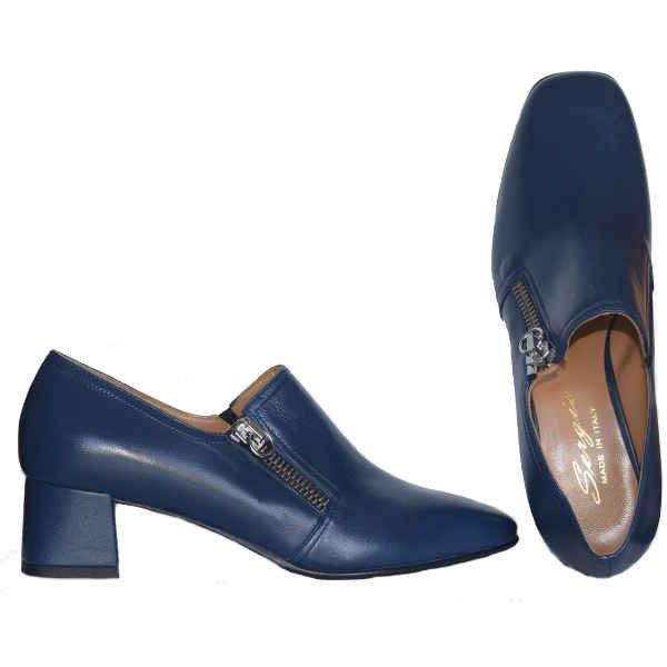 4107 blue 600x600 - Sergio shoes blue 4107