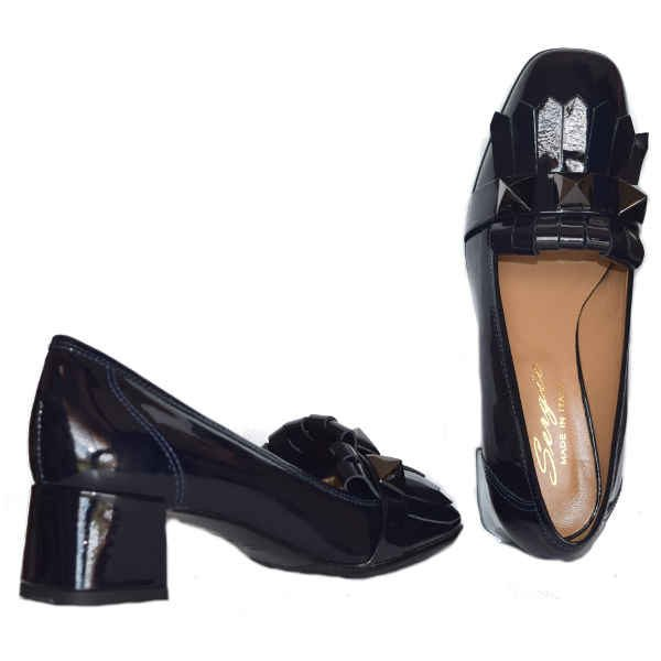4108 pat blue. 600x600 - Sergio shoes patent 4108