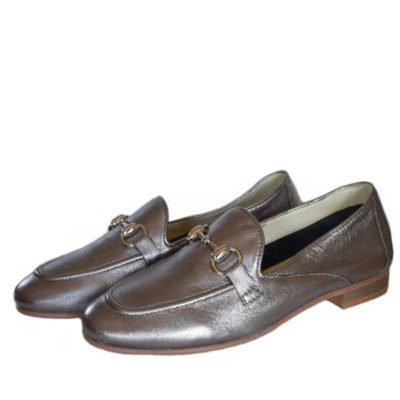 Antonella Rossi gunmetal shoes