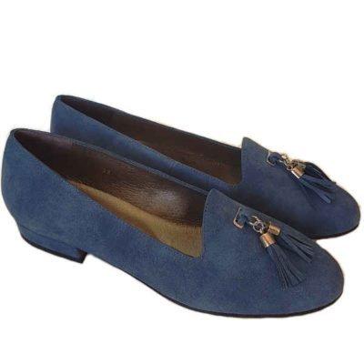 Sergio shoes Ceon blue suede