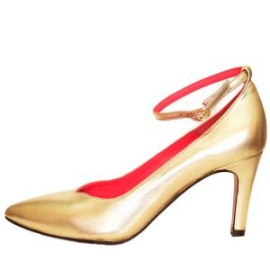 Sergio shoes gold